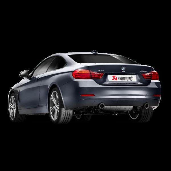 Akrapovic Evolution Komplettanlage passend für BMW 435i (F32 F33 F36) & 335i (F30 F31)