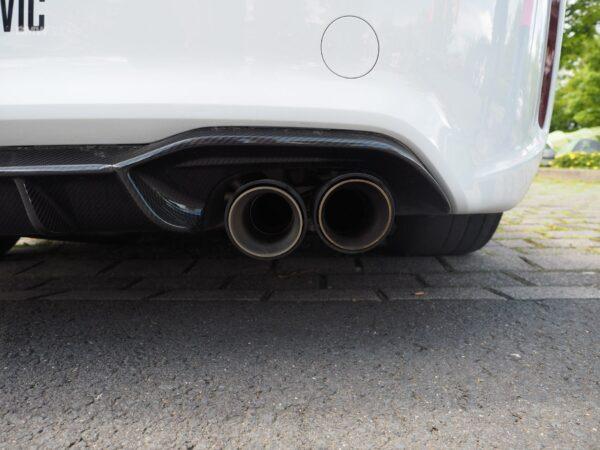 Original Akrapovic Carbon Diffusor HOCHGLANZ Heckdiffusor Glossy passend für BMW M2 F87 (mit ABE)