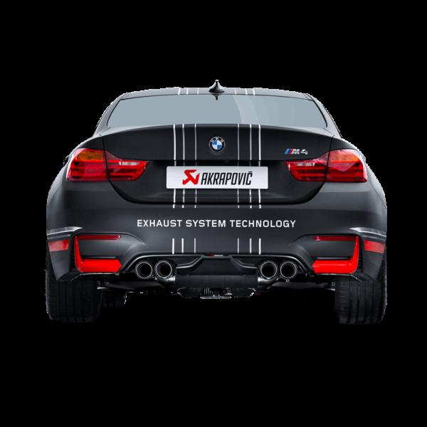 Akrapovic Carbon Diffusor passend für BMW M4 F82 F83 M3 F80 mit ABE Diffuser