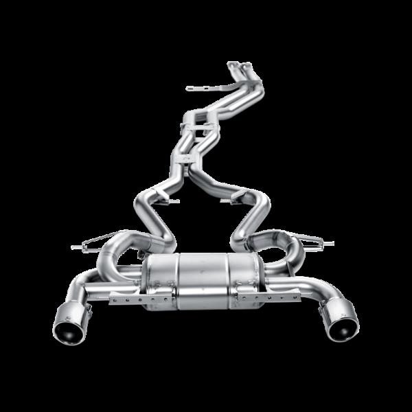 Akrapovic Evolution Line komplette Abgasanlage ab Kat passend für BMW 335i E90 E91 inkl. Montage