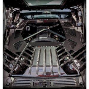 Eventuri Carbon Kevlar MOTORABDECKUNG passend für Lamborghini Huracan