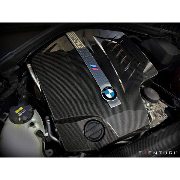 Eventuri Carbon Motorabdeckung Engine Cover passend für BMW F87 M2 inkl. Montage (M-Power) Für alle N55 Motoren