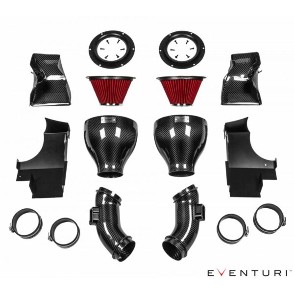 Eventuri Carbon Kevlar Ansaugsystem passend für BMW F10 M5 & M6 F12 F13 F06