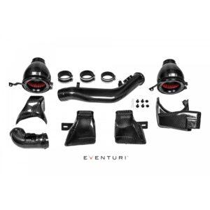 Eventuri Carbon Ansaugung / Air Intake inkl. Montage passend für BMW M4 F82 F83 M3 F80 mit Tüv Teilegutachten