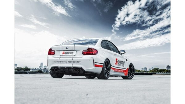 Akrapovic Downpipe mit Sport-Kat passend für BMW M2 F87 (mit ECE Zulassung)