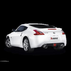 Akrapovic Evolution Line Komplettanlage passend für Nissan 370Z inkl. Montage