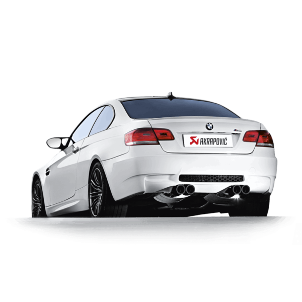 Akrapovic Evolution Line komplette Abgasanlage aus Titan passend für BMW M3 E92 E93 inkl. Carbon Endrohre