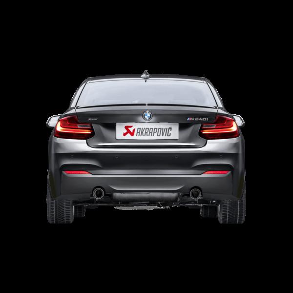 Akrapovic Evolution komplette Abgasanlage passend für BMW M240i F22 F23 & M140i F20 F21 mit EC-Zulassung