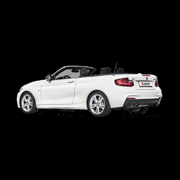 Akrapovic Downpipe mit Sport-Kat mit ECE-TÜV passend für BMW M240i F22 F23 & M140i F20 F21