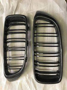 """""""Carbon KINGZZ"""" Niere / Grill passend für Ihren BMW M4 F82 F83 / M3 F80 & 4er F32 F33 F36"""