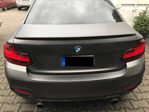 """""""Carbon KINGZZ""""  Heckspoiler passend für BMW F22 2er Coupe / M235i & M240i & M2 F87"""