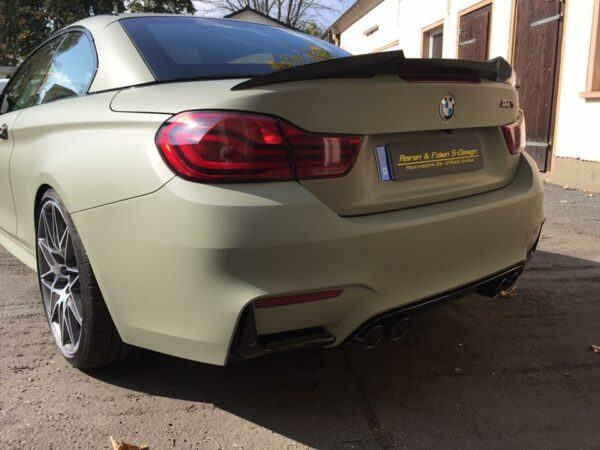 """""""Carbon KINGZZ"""" Heckspoiler passend für BMW M4 F83 Cabrio & 4er F33 Cabrio """"Aggro"""""""