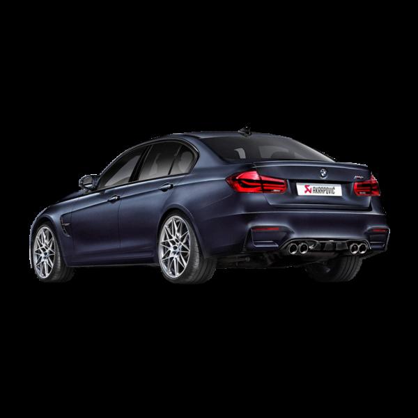 Akrapovic Carbon Diffuser (Hochglanz) passend für BMW M4 F82 F83 & M3 F80 NEUES DESIGN