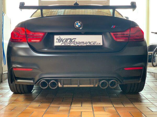"""Carbon KINGZZ"" Diffusor passend für BMW M4 F82 F83 / M3 F80 / Diffuser"