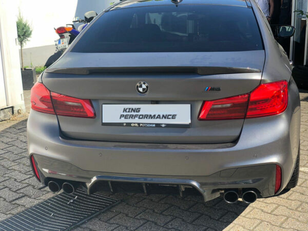 """Carbon KINGZZ"" Heckspoiler passend für BMW M5 F90 & 5er G30 Limousine"