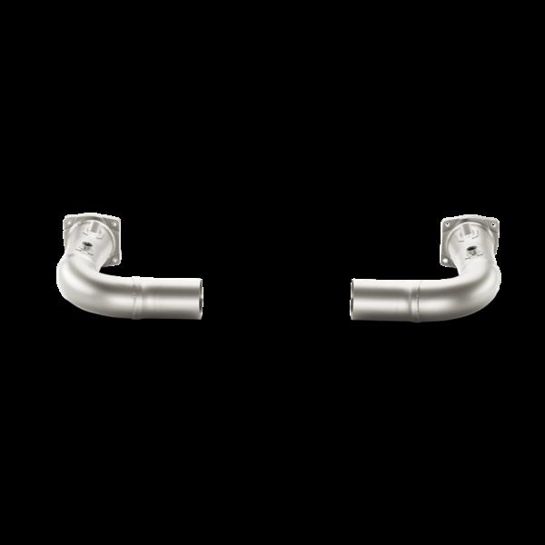 Akrapovic Link-Pipe Set OHNE KAT (Titan) passend für Porsche 911 Turbo/Turbo S (991) Bj. 2014-2015