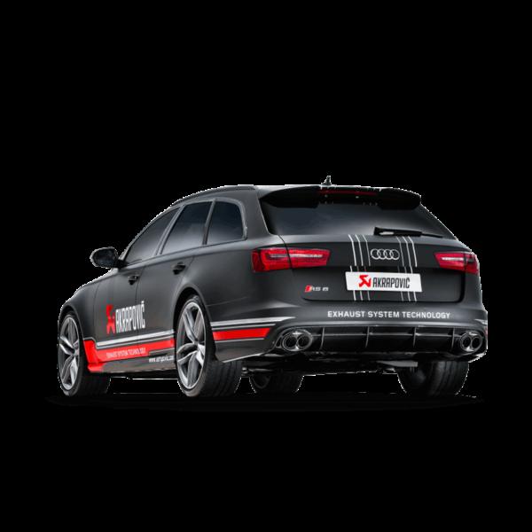 AKRAPOVIC EVOLUTION passend für Audi RS6 C7 komplette Titan-Abgasanlage NEU