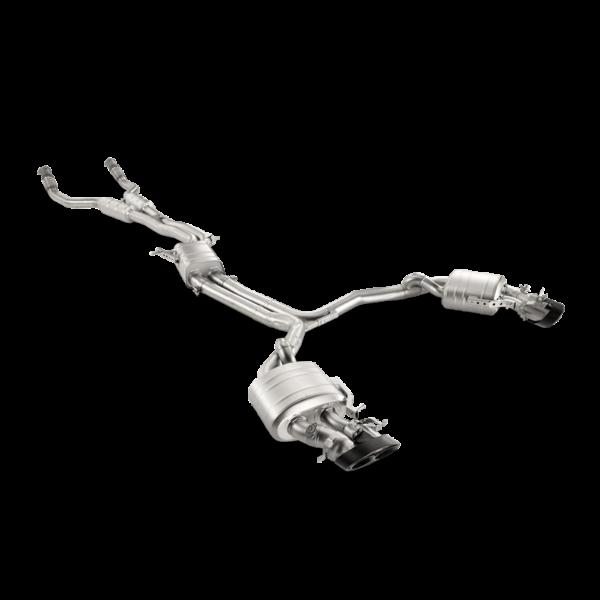AKRAPOVIC EVOLUTION passend für Audi RS7 C7 Sportback komplette Titan-Abgasanlage NEU