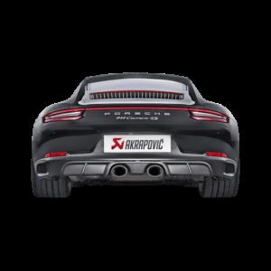 Akrapovic Slip-On Line (TITAN) – only for OE sport exhaust – passend für Porsche 911 Carrera /S/4/4S/GTS (991.2) Bj. 2016-2017