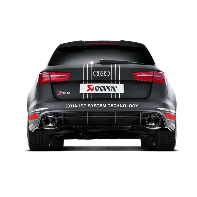 AKRAPOVIC EVOLUTION Passend Für Audi RS6 C7 Komplette