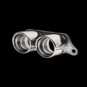 Akrapovic Endrohre TITAN / Tail pipe set (Titanium) passend für Porsche GT3 RS 991