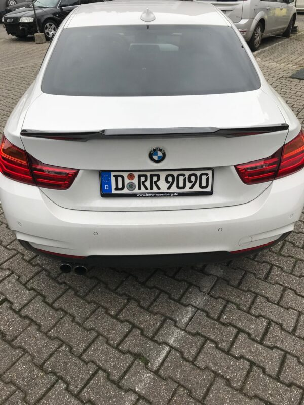 """Carbon KINGZZ"" Heckspoiler passend für BMW 4er F32 Coupe ""Aggro"""