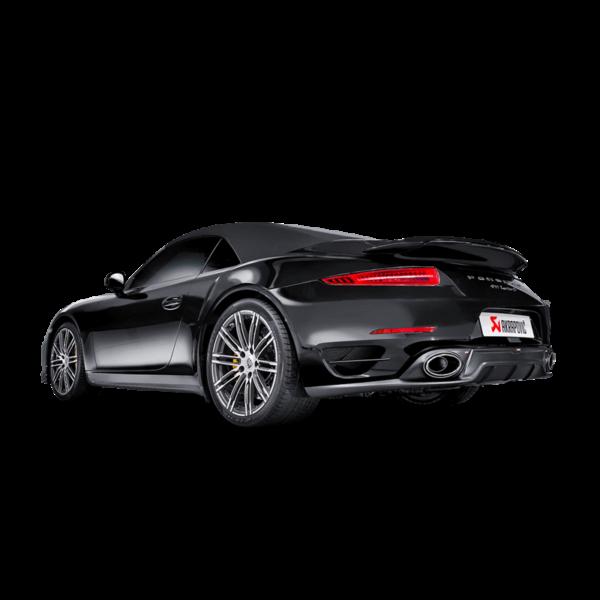 Akrapovic Slip-On Line (Titan) passend für Porsche 911 Turbo/Turbo S (991) Bj. 2014-2015