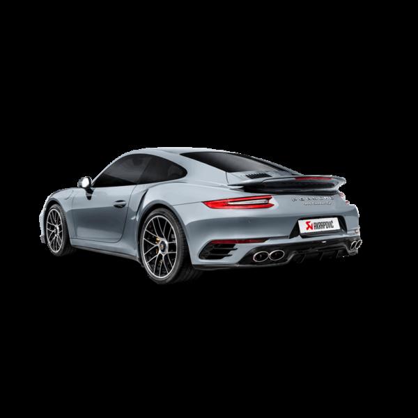 Akrapovic Slip-On Line (Titanium) passend für Porsche 911 Turbo / Turbo S (991.2) Bj. 2016-2017