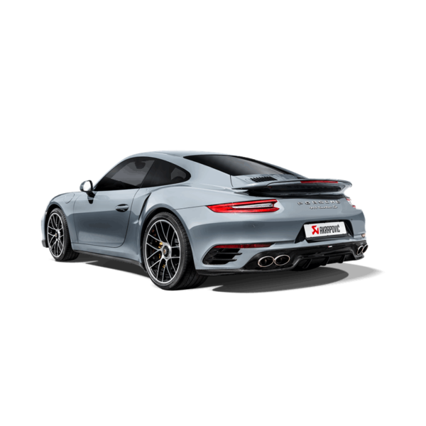 Akrapovic Rear Carbondiffuser – High Gloss passend für Porsche 911 Turbo / Turbo S (991.2) Bj. 2016-2017 HOCHGLANZ