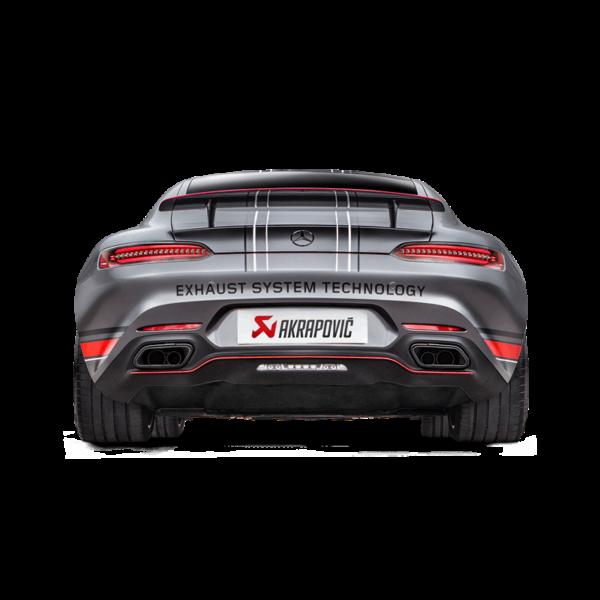 Akrapovic Evolution Line (Titan) passend für Mercedes-AMG GT (C190) / GT Roadster (R190) / GT S (C120) / GT C Roadster (R120) Bj. 2015-2017