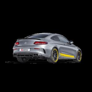 AKRAPOVIC EVOLUTION Titan Komplettanlage passend für Mercedes C63 & C63S AMG C205 Coupe
