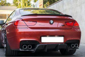 """""""Carbon KINGZZ"""" Heckspoiler AGGRO für BMW M6 & normaler 6er F06 (Gran Coupe)"""