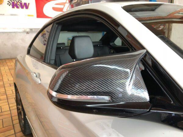 """Carbon KINGZZ"" Spiegelkappen passend für BMW F20 F21 F22 F23 & M2 F87"