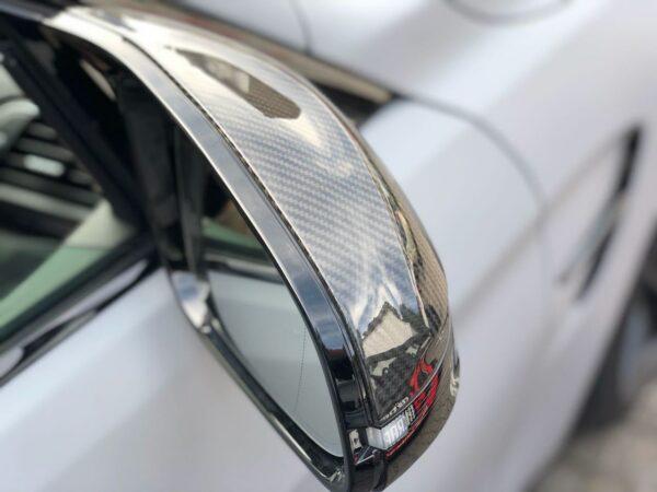 Original Akrapovic Carbon Spiegelkappen HOCHGLANZ passend für BMW M4 F82 F83 / M3 F80 (Set, links + rechts)