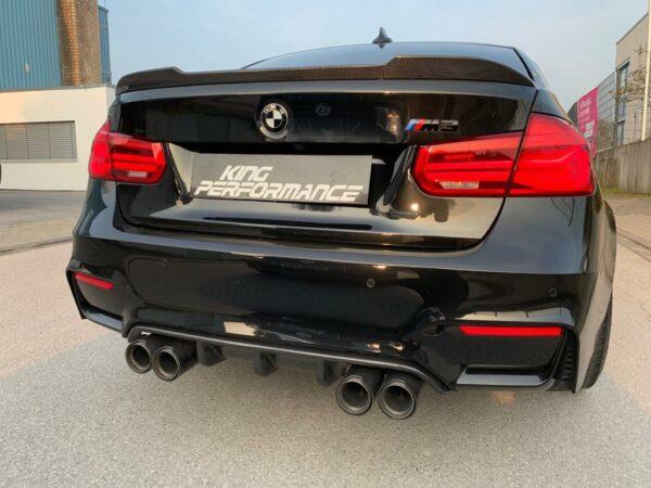 """Carbon KINGZZ"" CFCS Heckspoiler Spoiler passend für BMW M3 F80 & 3er F30"