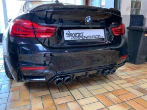 """Carbon KINGZZ"" CFCS Heckspoiler Spoiler passend für BMW M4 F82 Coupe"