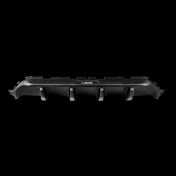 Rear Carbon fiber diffuser – Matte / MATT Carbon Diffuser Akrapovic mit ABE passend für BMW M5 F90