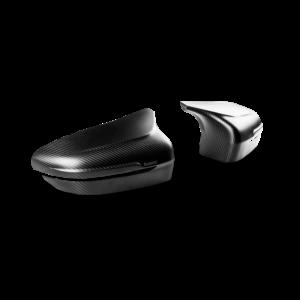 Carbon Fiber Mirror Cap Set – High Gloss or matte / Akrapovic Carbon Spiegelkappen in Hochglanz oder matt passend für M5 F90