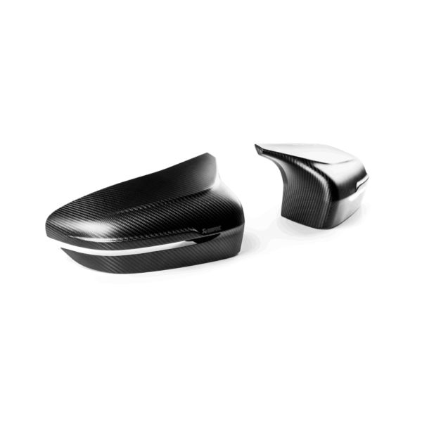 Akrapovic Carbon Fiber Mirror Cap Set – High Gloss or matte / Spiegelkappen in Hochglanz oder matt passend für M5 F90
