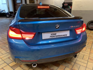 """Carbon KINGZZ""  Heckspoiler Spoiler passend für BMW 4er Gran Coupe F36"