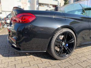 """Carbon KINGZZ"" CFCS Heckspoiler Spoiler passend für BMW M4 F83 & 4er F33"
