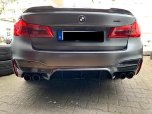 """""""Carbon KINGZZ"""" Heckspoiler CFCS passend für BMW M5 F90 & 5er G30"""