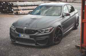 """Carbon KINGZZ"" CFCS Frontlippe passend für Bmw M3 F80 / M4 F82 F83 Frontspoiler"