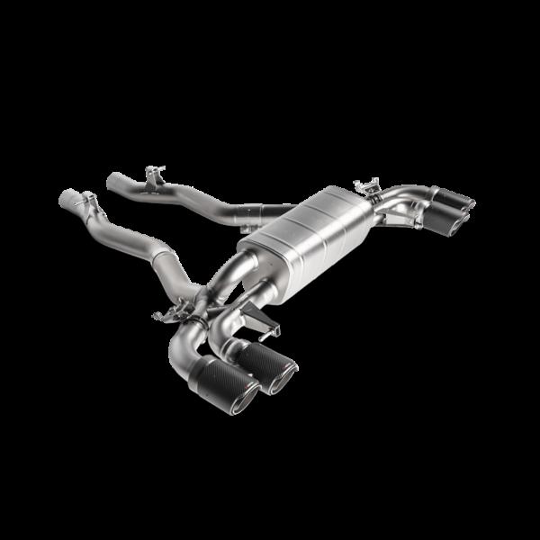 Akrapovic Slip-On Line (Titanium) passend für BMW M5 F90 mit OPF