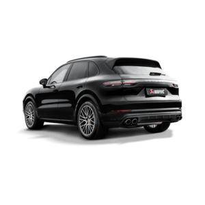 Akrapovic Evolution Line (Titan) passend für Porsche Cayenne 536 OPF  inkl. Endrohre Carbon / Titan
