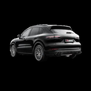 Akrapovic Evolution Line (Titan) passend für Porsche Cayenne (536)