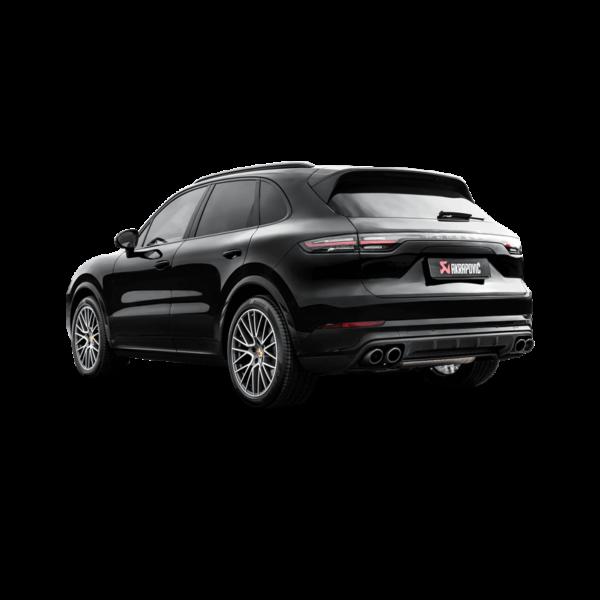 Akrapovic Evolution Line (Titan) passend für Ihren Porsche Cayenne (536)