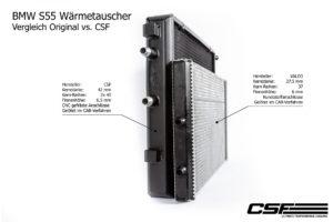 CSF  Wärmetauscher passend für BMW M2 Competition M3 F80 M4 F82 F83 ( S55 Motor )