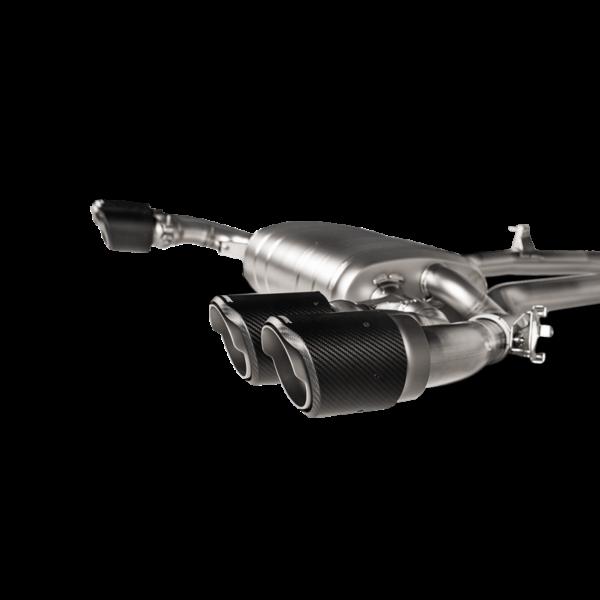 Akrapovic Slip-On Line (Titanium) passend für X3 M / X3 M Competition (F97) inkl. Carbon Endrohre
