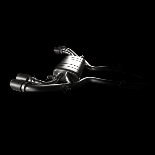 Akrapovic Slip-On Line (Titanium) passend für X4 M / X4 M Competition (F98) inkl. Carbon Endrohre